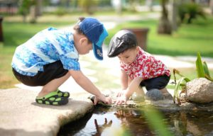 Glück Kindheit - Glücksdetektiv