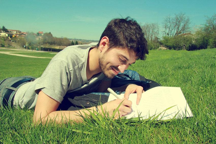 Schreiben - Glücksdetektiv